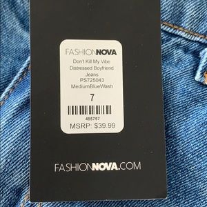 Fashion Nova Jeans - Fashion Nova
